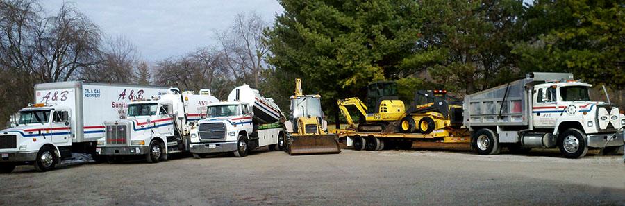 A & B Sanitation Trucks